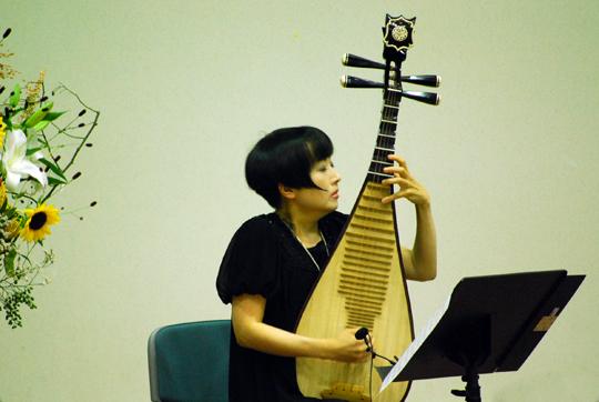 ◇中国琵琶:シャオロンさん