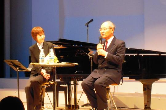 ドリームトークショー「世界が認めた日本人」 〜世界の大きな舞台で活躍する二人の日本人の夢の対談〜